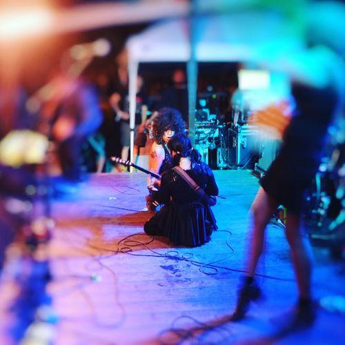 Death Valley Girls Women Performance Concert Live Music Live Performance  Girl Rock Music Brings Us Together Music Festival Music Festival Moments Festival