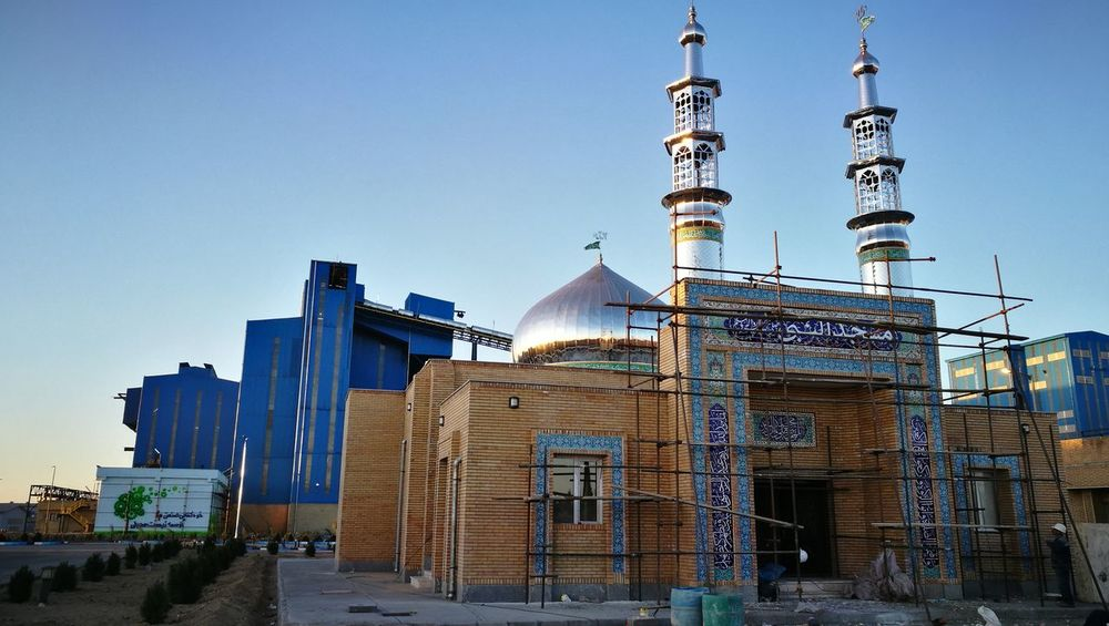 Industry Architecture Building Exterior Built Structure Civil Clear Sky Mosque Praying