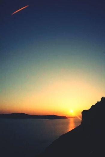 Santorini Sunset Trippin' Summer 2014