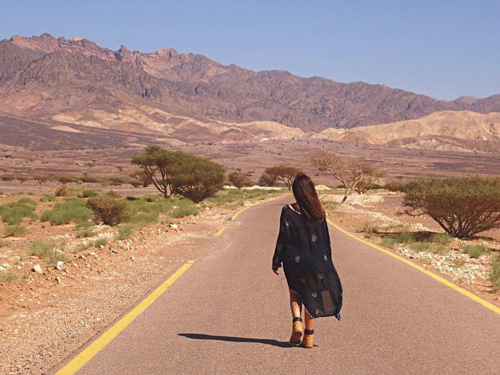 King's Road Traveling Iamonmywaytoeverywhere Jordan Mountain Scenics - Nature Nature Desert Landscape Road