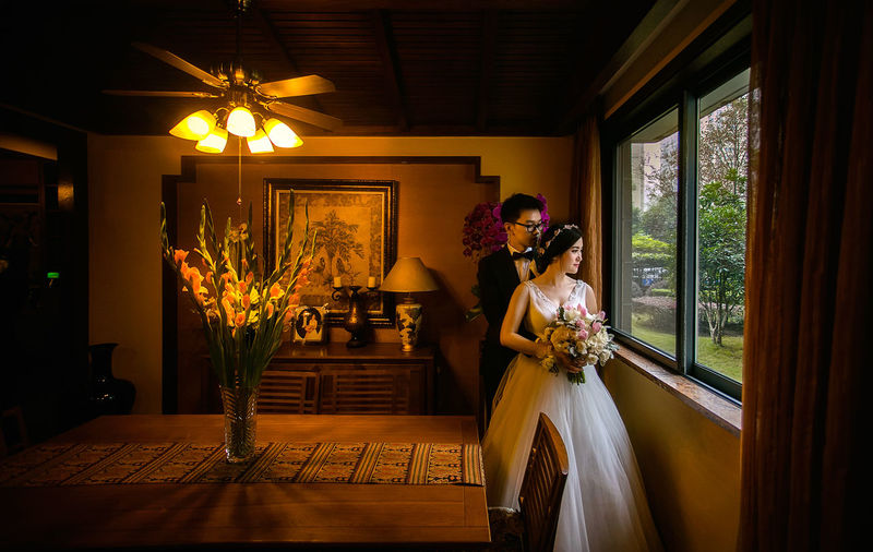 Light And Shadow Wedding Photography Chinese Art