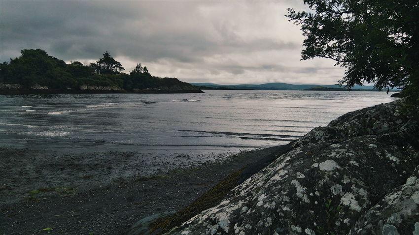 Cloudy Dark Sky Stormy Sea Enjoying Life Explore Traveller Photography
