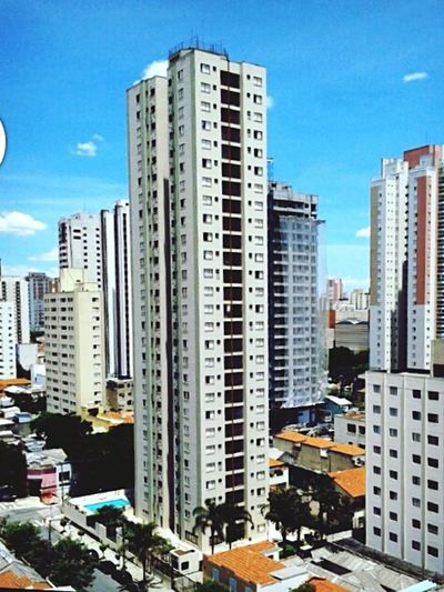 Assim é São Paulo Skyscraper City Architecture Cityscape Business Finance And Industry Building Exterior Modern Urban Skyline Sky Apartment