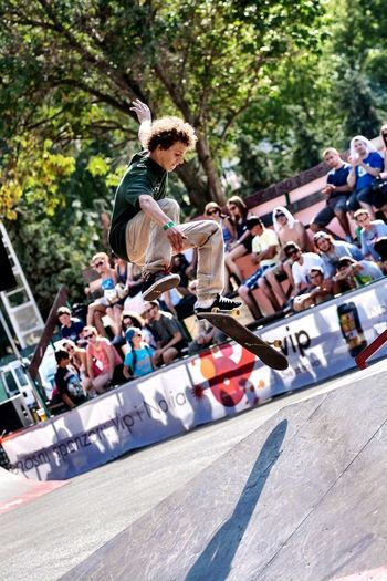 Some skateboard action at Pannonian Challenge XIII Skateboarding Skate Sports Pannonian Challenge