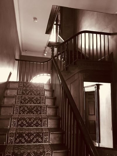 Victorian staircase Railing Built Structure
