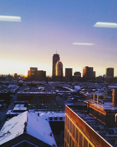 Boston after a ❄ storm Boston Southend Backbay Skyline Cityscape Snow Blizzard Afterstorm  Winterwonderland Mycity Instapretty Bostondotcom Igersboston Bostonsworld Igboston VSCO Vscocam