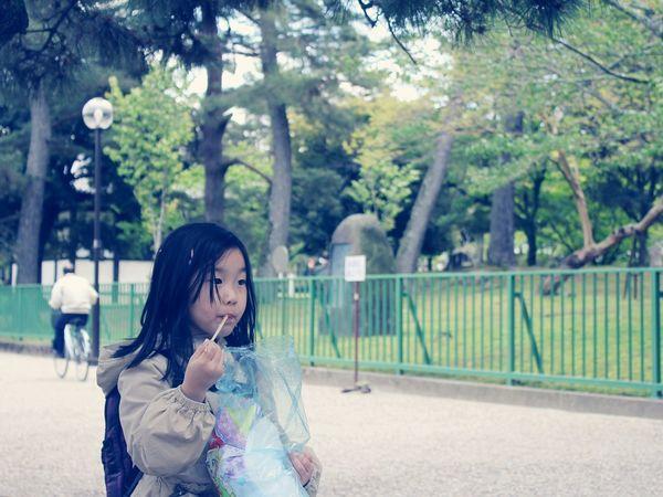 Narapark Nara,Japan Nara Little Girl Littlegirl Street Food Worldwide