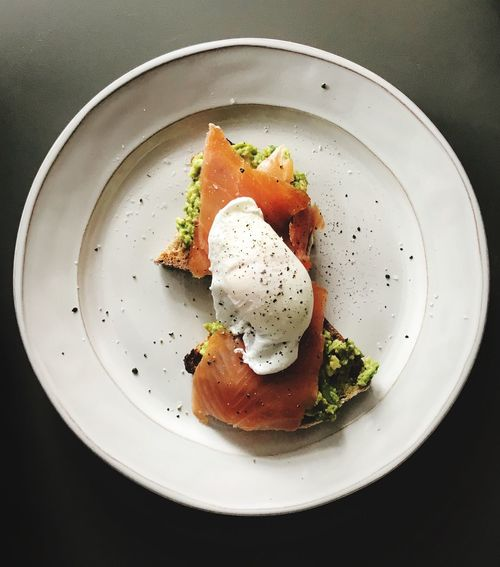 Breakfast of champions Foodphotography Food EyeEm Best Shots EyeEm Selects Delicious Balanced Meal Breakfast Smoked Salmon  Egg Avocado Plate Food Food And Drink Freshness Ready-to-eat Indoors  Serving Size Healthy Eating Poached No People