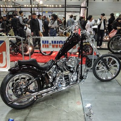 Yokohama hotrod custom show 2013 Hcs2013 Harleydavidson Softail Chopper bobber
