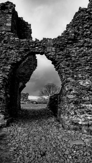 Gothic Moody Atmospheric Dramatic Dark Day Beauty In Nature Outdoors No People Sky Landscape Nature Cloud - Sky History Ominous Scenics Cumbria England UK Brough Low Angle View Built Structure Building Exterior Architecture Rural Scene Dramatic Sky Storm Cloud