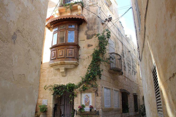 Malta Building Exterior Historic Buildings Historic Town No People in Rabat.