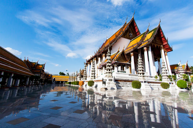 Wat Suthat Thepwararam Bangkok,Thailand Bangkok Buddha Thailand Wat Pho Wat Suthat Art Buddhist Temple Cultures Religion Temple - Building Temple Architecture Be. Ready.