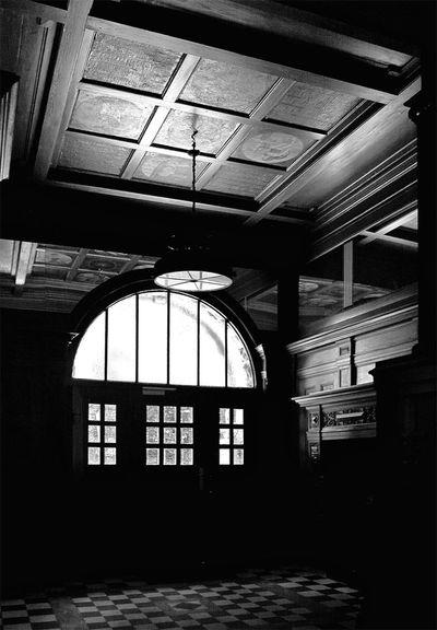 Blackandwhite Monochrome Old Hallways
