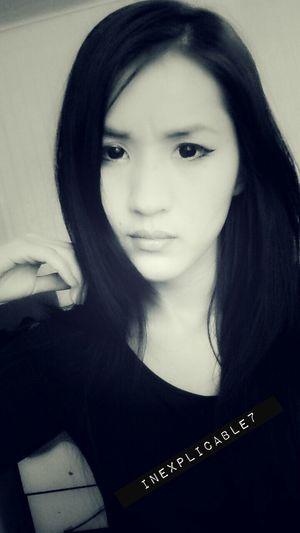 Girl Asian Girl That's Me Selfie