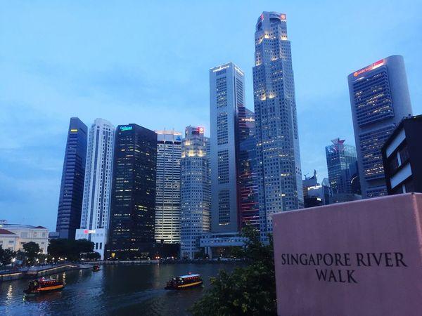 Taken from the Elgin Bridge Singapore