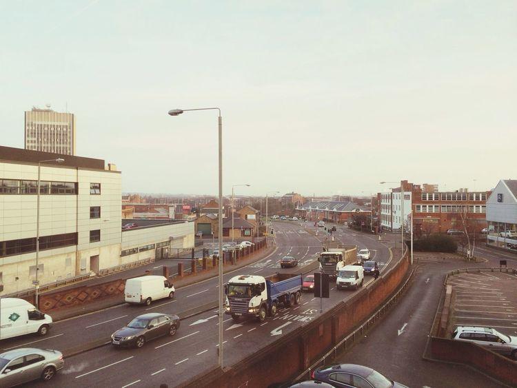Good morning! Traffic Urban Leicester