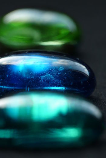 Zen Blue Bubble Circle Close-up Focus On Foreground Glass Stones Green Green Color High Angle View Indoors  Motion No People Reflection Selective Focus Shiny Single Object Sphere Still Life Surface Level Table Transparent Zen Macro_collection Macro Wallpaper