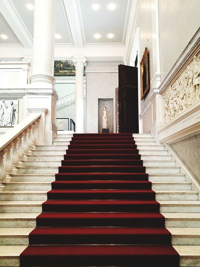 stairs Berlin Berlinstyle Berliner Ansichten Berlin Photography Berlin Love Politics And Government Steps And Staircases Steps Staircase Architecture Built Structure Chandelier Ceiling Museum Art Museum