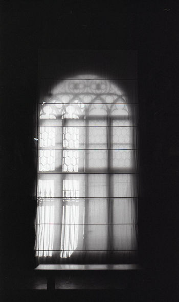 Window Arch Dark Darkroom Geometric Shape Window Frame No People Blackandwhite Black And White Bwn Film The Purist (no Edit, No Filter) Film Is Not Dead 35mm Film Siena Italy Architectural Feature Architecture