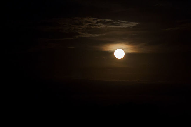 Domincan Republic Full Moon Moon Santo Domingo, DR Sky And Clouds Astronomy Beauty In Nature Landscape Moon Moonlight Nature No People Outdoors Scenics Silhouette Sky Solar Eclipse Space Sun Sunset Tranquil Scene Tranquility