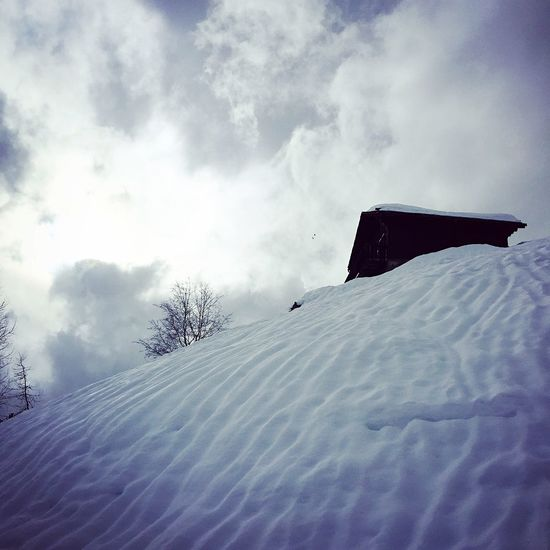 Clouds And Sky Clouds Sky Switzerland Mountain Landscape IPhoneography Beauty In Nature Winter Snow Cold Temperature Day Nature Sky Outdoors