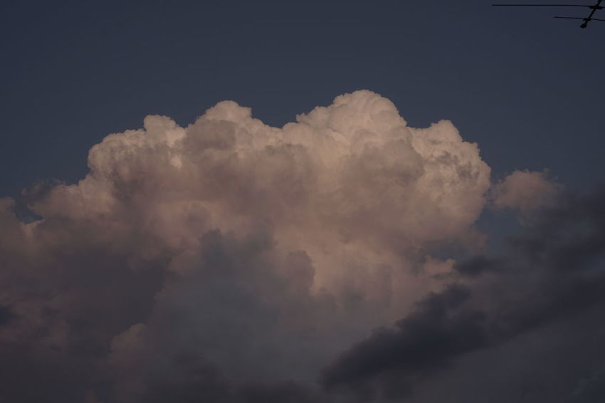 Beautiful early evening cloud formation Evening Light Skyward View Backgrounds Beauty In Nature Billowing Clouds Cloud - Sky Copyspace Day Evening Glow Evening Sky From Rooftop Nature No People Outdoors Pink Color Scenics Sky Sky Only Tranquil Scene Tranquility Weather