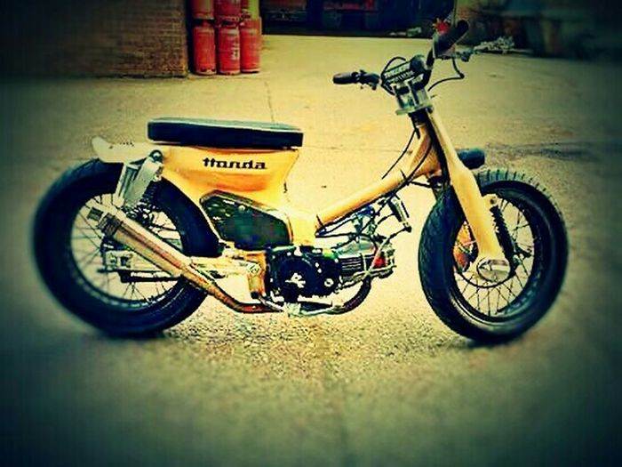 Motorcycles Custom Bikes Supermotard Honda Mini4stroke Japonese 90cc's Eye4photography  Streetphotography