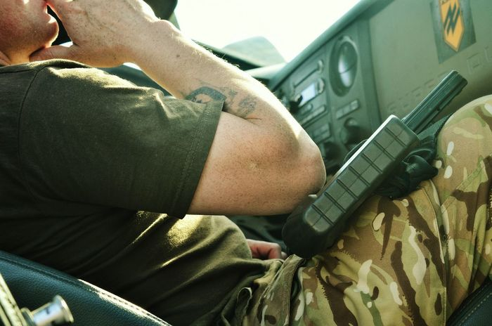 Ammunition Uniform Military Militar Army Soldier Army Style Army Men Young Adult Outdoors Weapon Handgun Gun Hand Close-up Human Hand Adult Adults Only Military Uniform Military Life Military Vehicles MilitaryPhotography Military Car Military Style Ukraine