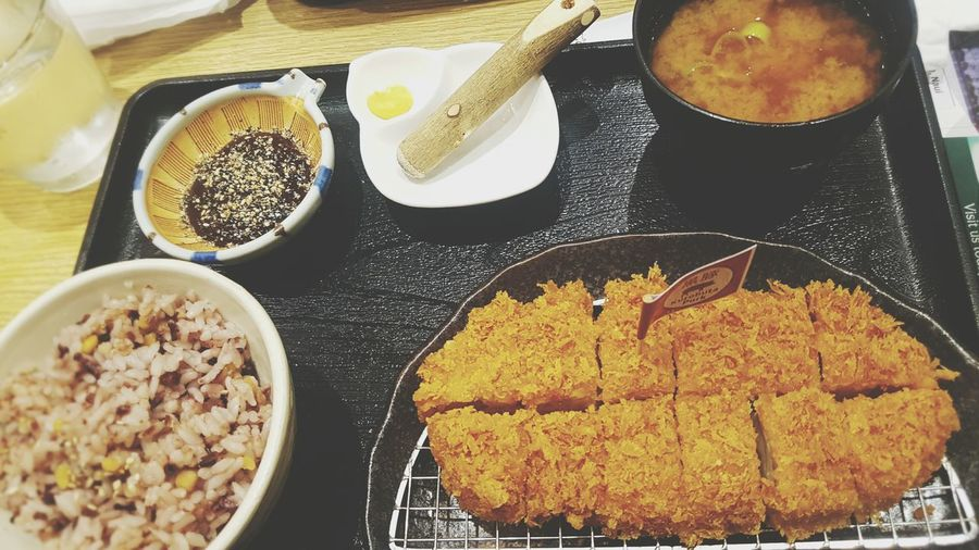 Japanese food is life. Food And Drink Food Japanese Food Tonkatsu Eyeem Philippines