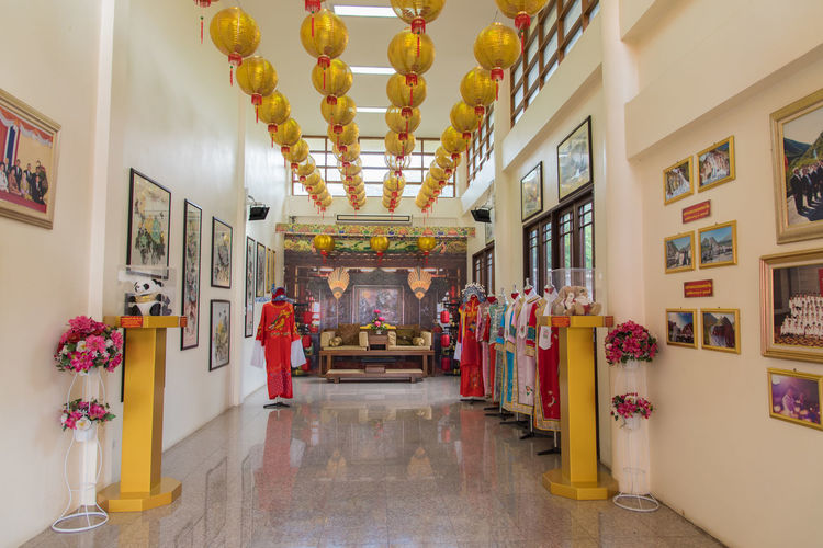 Cultural Center Education Museum Tavel Thai-chinese Cultural Center Thailand Tourism Travel Traveling Udonthani Udonthani Thailand