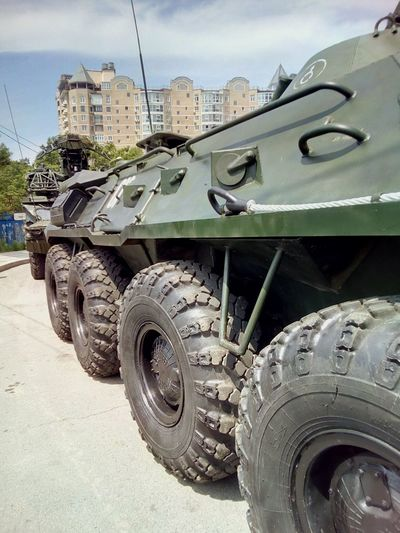 The day of the Navy in Vladivostok Navy Selebration Festive Military Car Military Parade City City Life Cityscapes Cityscape Street Military Military Equipment