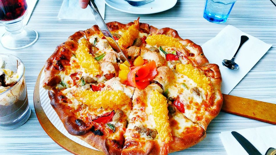 Food♡ Pizza🍕 Ice Rink Travel Adult City