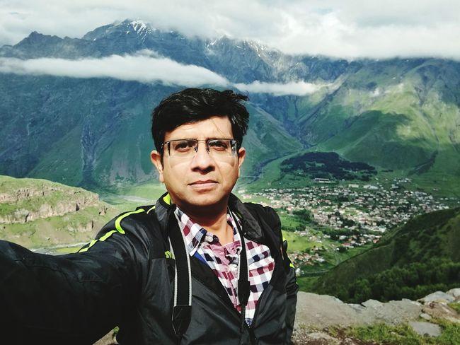Kazbegi Journeyphotography Geeen Mountains