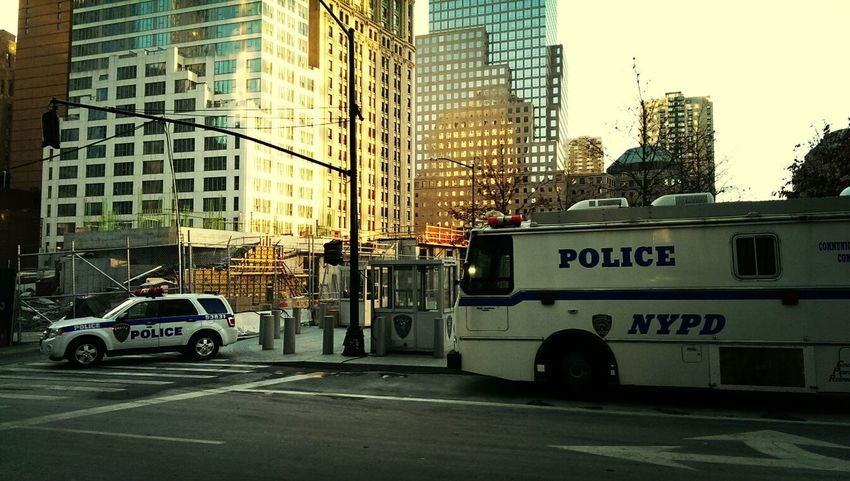 NYPD New York City Taking Photos Tourist