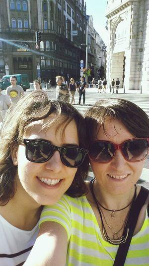 Traveling My Holidays Budapest Selfie