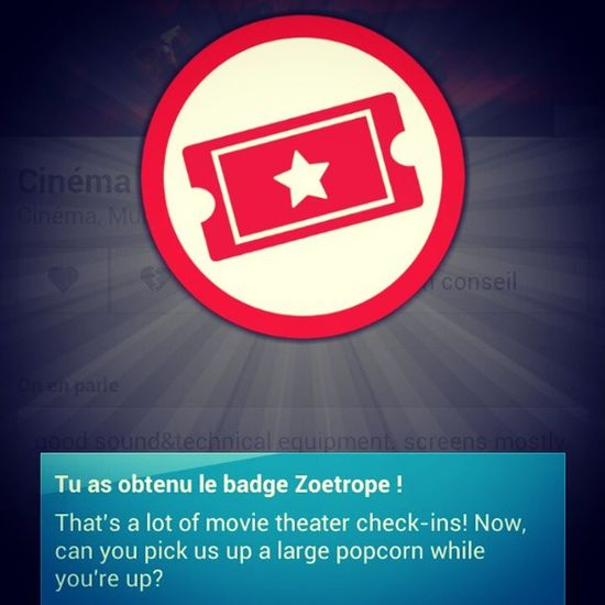 Badge 4sq Cinema Oz