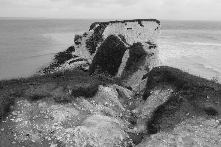 Old Harry Rocks Dorset Dorset Coast Beauty In Nature Cliff Day Horizon Over Water Jurassic Coast Limestone Rocks Nature No People Old Harry Rocks Outdoors Purbeck Rock Scenics - Nature Sea Stack Rock Studland Tranquil Scene Tranquility Water