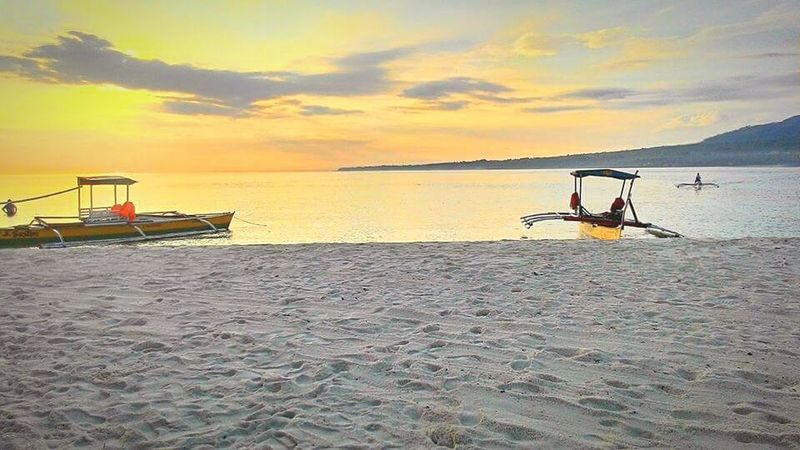 Sunrise at Camiguin Island. Sea Water Beach Beauty In Nature Sky Scenics Nature Sand Vacations Cloud - Sky Outdoors Travel Destinations Camiguin White Island Camiguin Philippines Beach Photography Sunrisephotography Horizon Over Water Outdoor Pursuit