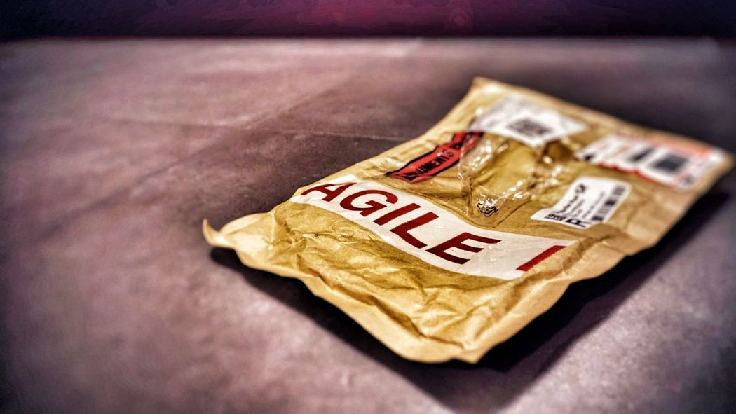 AGILE ... solution for everything? No People Indoors  Close-up Text Paper Currency Currency Day Agile