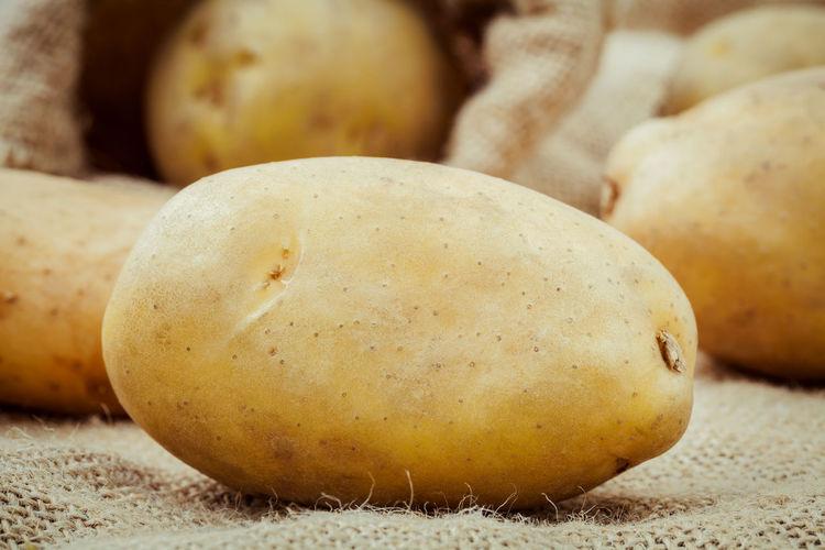 Close-up of potato