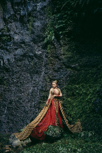 Beauty kebaya traditional.