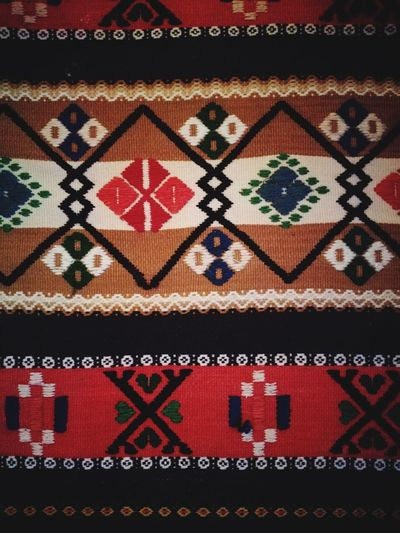 Textile Pattern Multi Colored EyeEmNewHere Weave Pattern Close-up