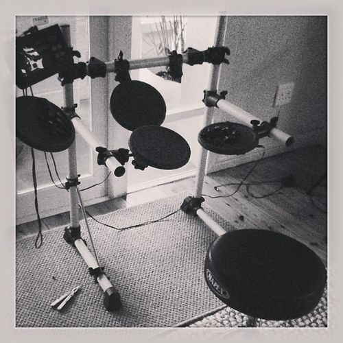 Setting up my Old Drumkit