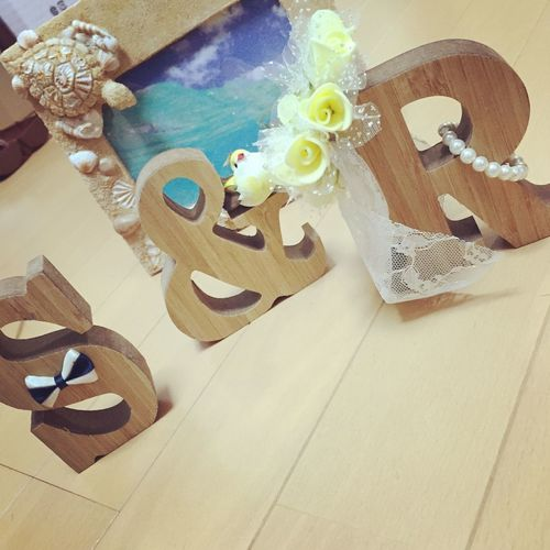 Wedding Initial My Name My World Enjoying Life Handmade
