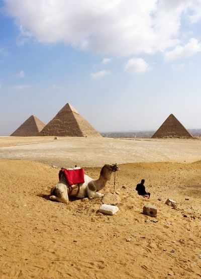 pyramids of egypt IPhoneography People Watching Eye4photography  Peoplephotography Capture The Moment Streetphotography Light And Shadow Landscape_photography Blue Sky