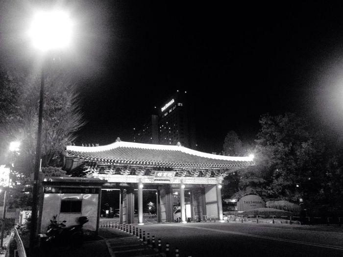 신라호텔 Night Building Exterior City 더파크뷰 First Eyeem Photo