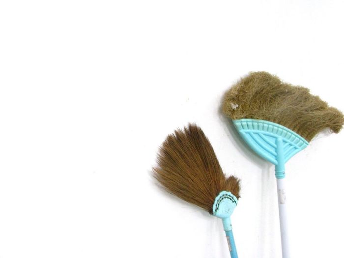 Broom, Cleaning