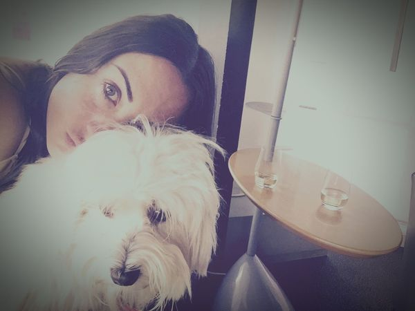Myprincess🐶🐶 Isis😍 Ilovemydog Readytogo Inlovewithmybaby Aeroport ✈