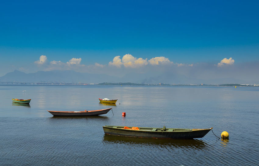 Beauty In Nature Blue Cloud - Sky Day Mode Of Transport Nature Nautical Vessel No People Outdoors Scenics Sea Sky Tranquil Scene Tranquility Transportation Water