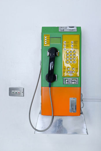 Old pay phone